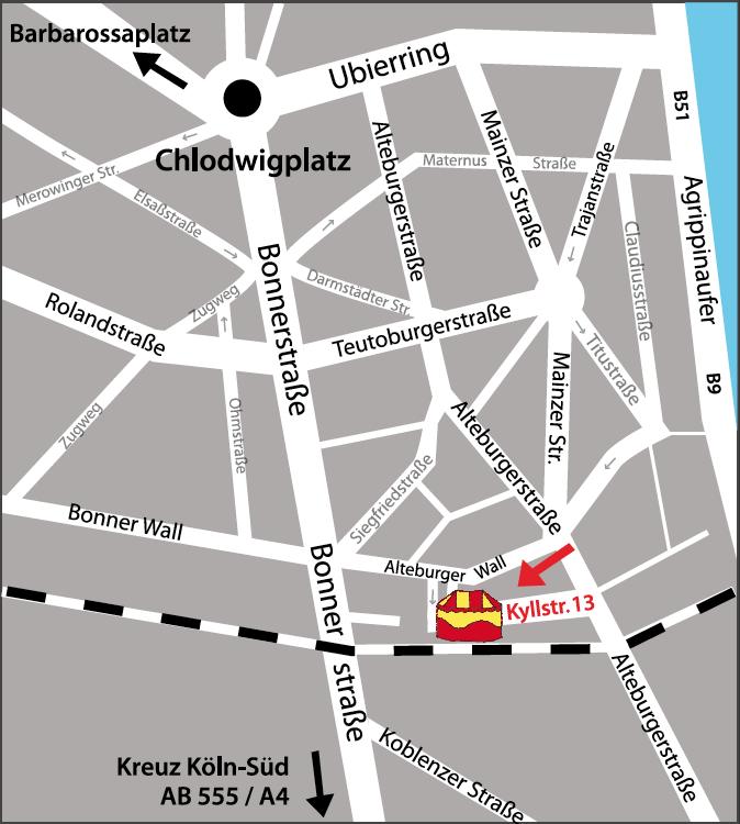 Circusevents-koeln-Anfahrtskarte